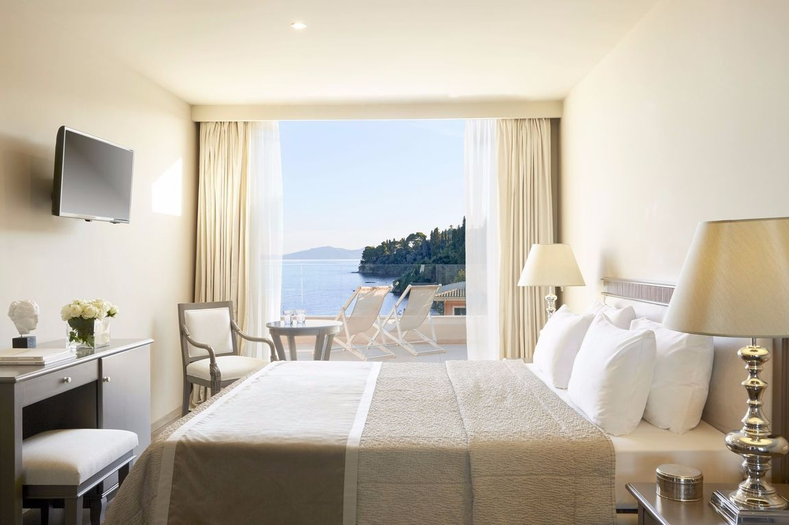 Mayor Mon Repos Palace Art Hotel in Corfu town Greece ...